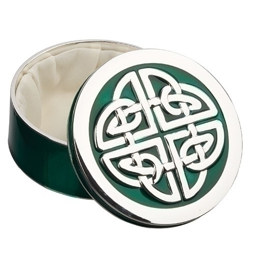 "1.5"" Irish Celtic Knot Keepsake Box"