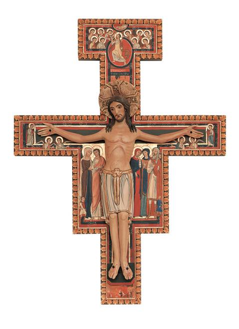 #290/5 San Damiano Cross | Handmade In Italy