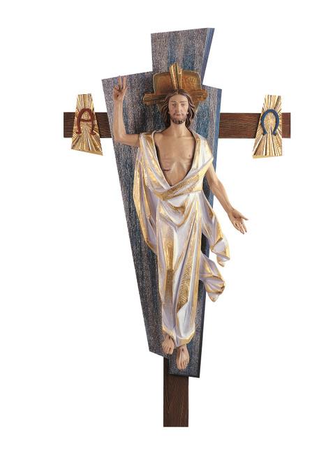 #280/62 Risen Christ Corpus & Cross | Handmade In Italy