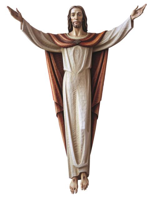 #280/29 Risen Christ 3/4 Relief | Handmade In Italy