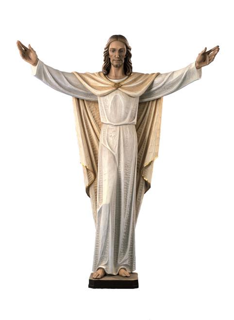 #280/29X Risen Christ Full Round Statue | Handmade In Italy