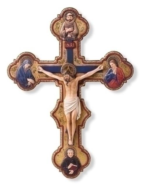 """15"""" Misericordia Crucifix"""