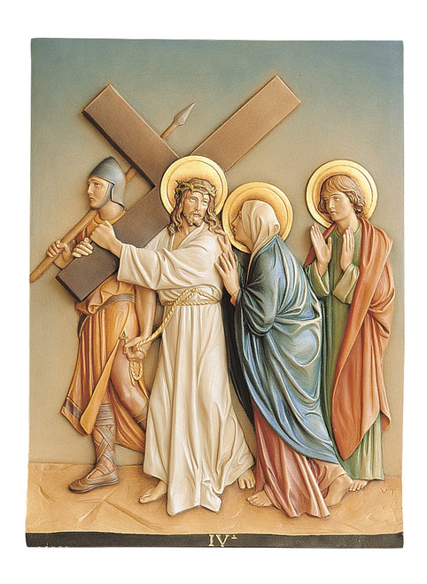 #1370 Stations Of The Cross | Fiberglass | Handmade In Italy