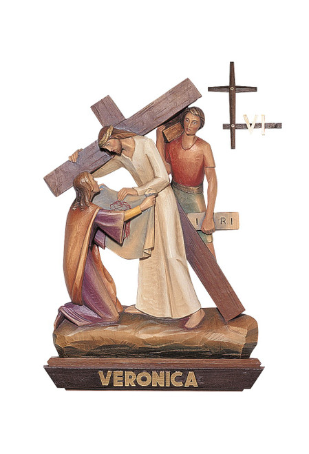#1341 Stations Of The Cross | Lindenwood | Handmade In Italy