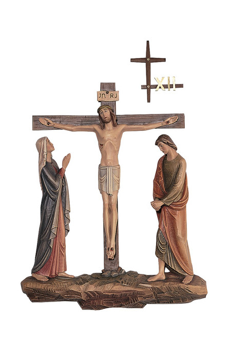 #1340 Stations Of The Cross | Lindenwood | Handmade In Italy