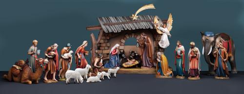 "#1902 ""Kostner"" Nativity Set by Demetz | Handmade In Italy"