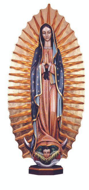 #779 Our Lady of Guadalupe Statue | Handmade In Italy
