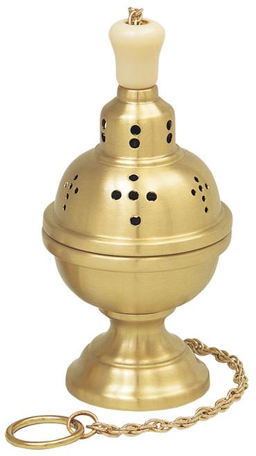 Shown In Satin Brass