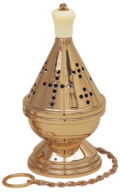 K601 Censer and Boat | Thurible | Multiple Finishes