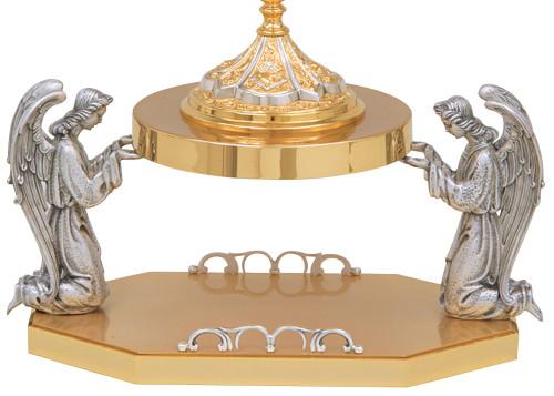 K192 Kneeling Angel Thabor | 24K Gold Plated