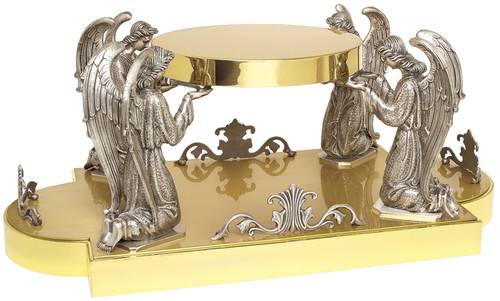 K404 Four Adoring Angels Thabor | 24K Gold Plated