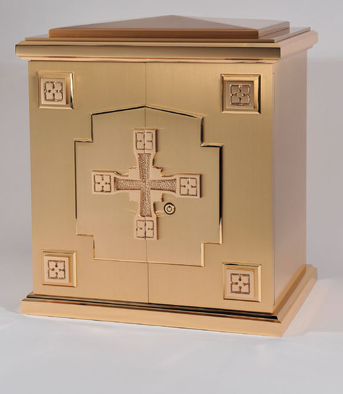 #10TAB42 Cross Tabernacle | Bronze