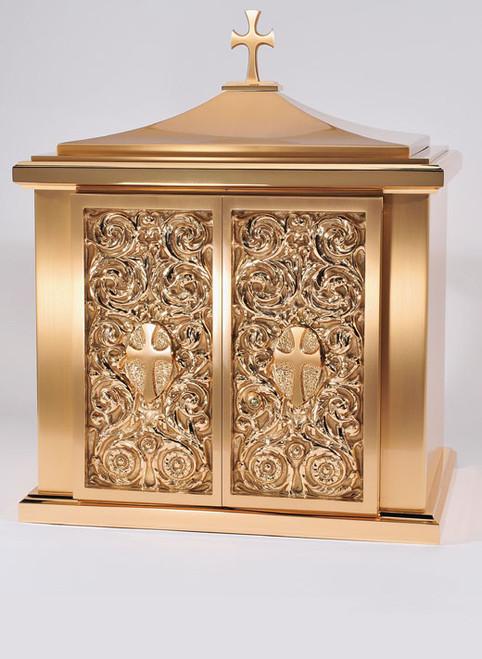 #10TAB22 Ornate Tabernacle | Bronze