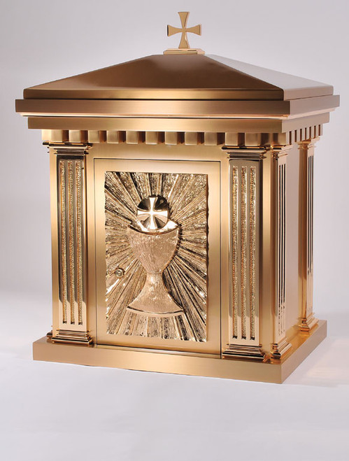 #10TAB10 Eucharist Tabernacle | Bronze