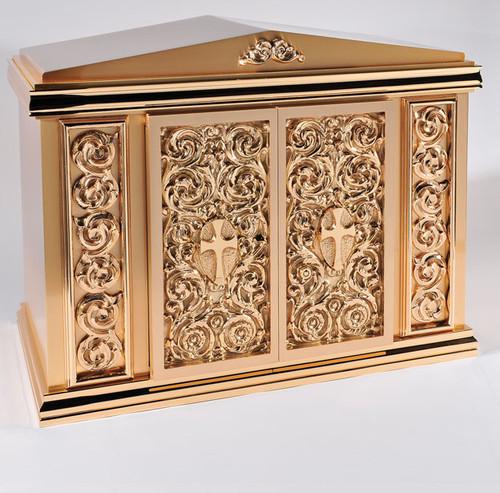 #10TAB3 Ornate Tabernacle | Bronze