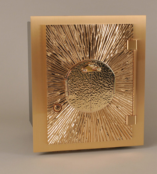 #20TAB83 Exposition Wall Tabernacle | Bronze