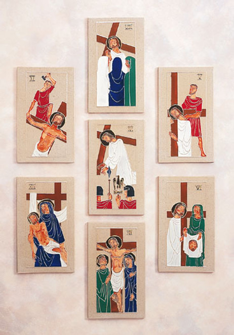 "#5422 Stations Of The Cross | 9.25"" x 5.5"" 