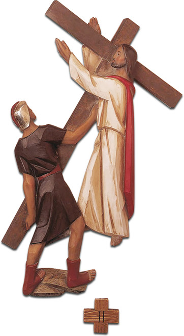 "#5499 Stations Of The Cross | 19""-27"" 