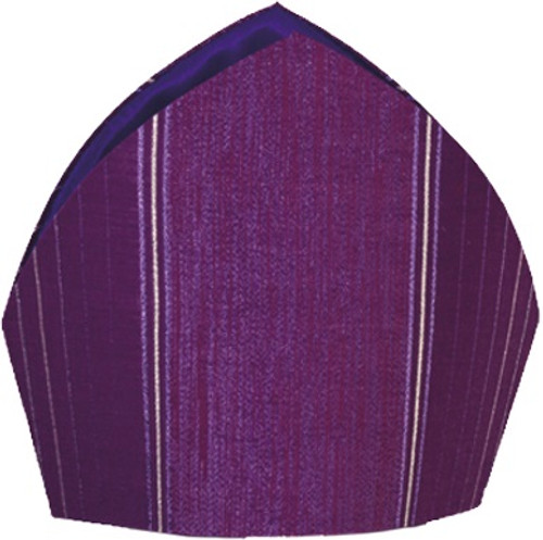 #2010 Embroidered Mitre | Wool/Lurex | All Colors