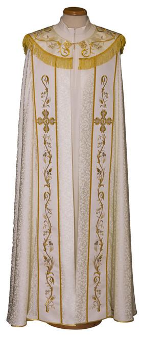 #7954 Ornate Italian Embroidered Cope   Acetate/Viscose   All Colors
