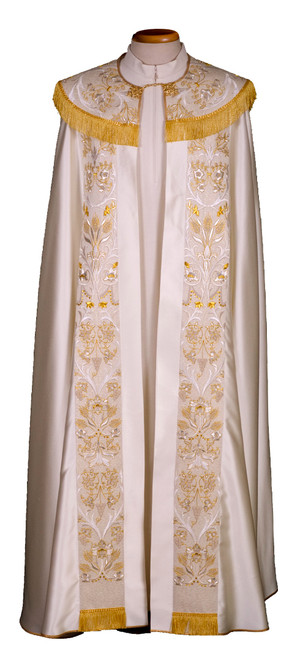 #7015 Ornate Embroidered Cope   Wool/Silk   All Colors