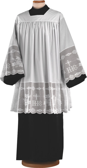 #0048 Thick IHS Lace Surplice | Poly/Cotton