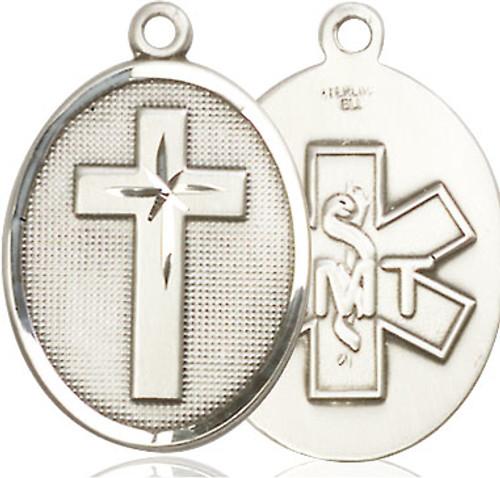 Cross EMT Sterling Silver Pendant