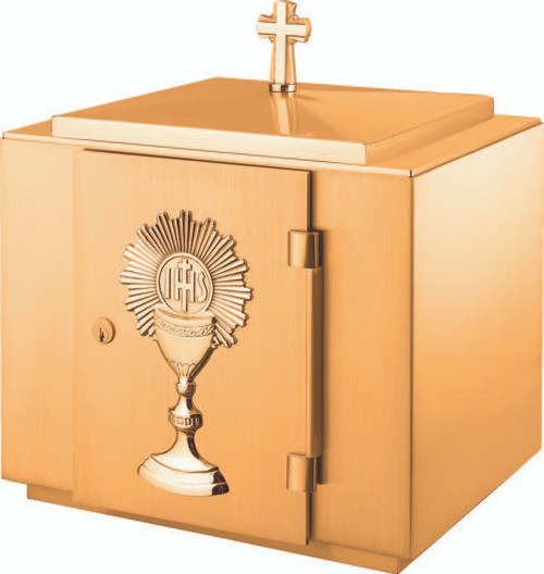 #8628 Blessed Sacrament Tabernacle | Combo Bronze