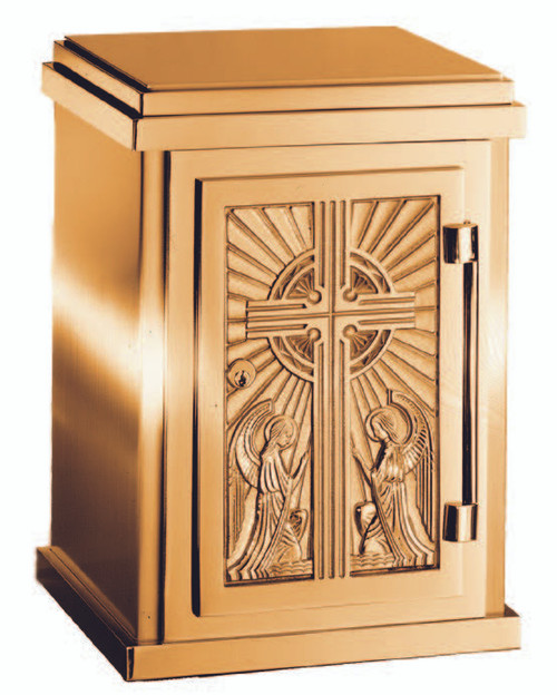 #9527 Adoring Angels Tabernacle | Multiple Bronze Finishes