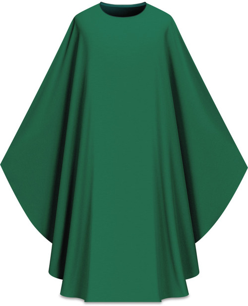 Assisi Plain Chasuble | Plain Collar | 100% Polyester | All Colors