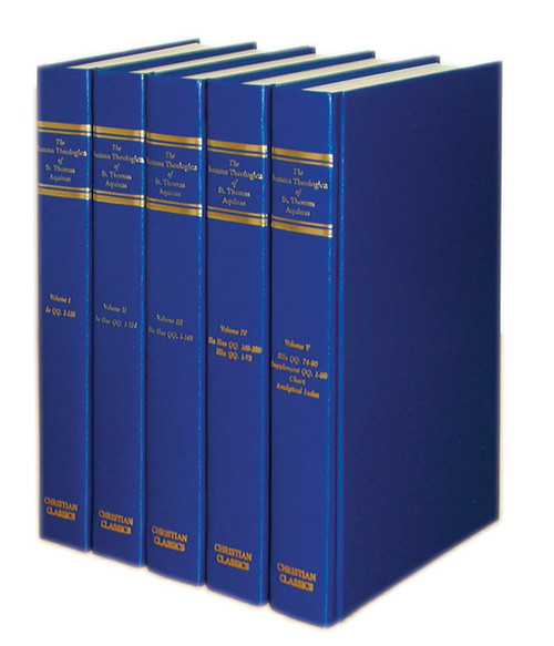 Summa Theologica: Complete 5 Volume Set | Hardcover