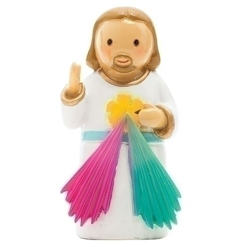 "3"" Divine Mercy Little Drop Statue 
