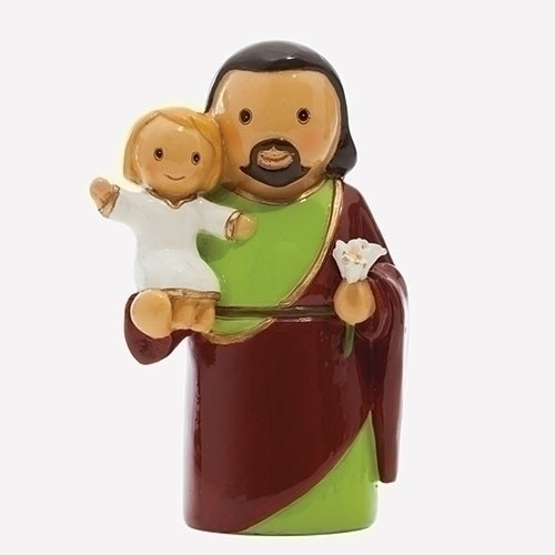 "3"" St. Joseph Little Drop Statue 