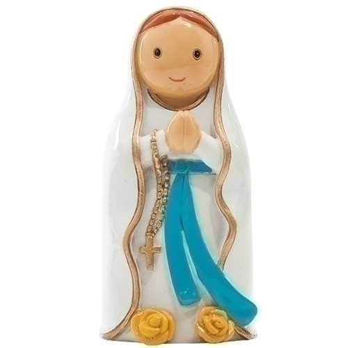 "3"" Our Lady of Lourdes Little Drop Statue 