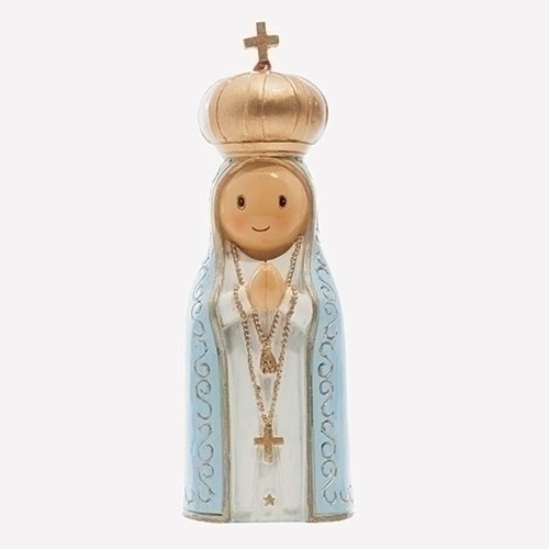 "3"" Our Lady of Fatima Little Drop Statue 