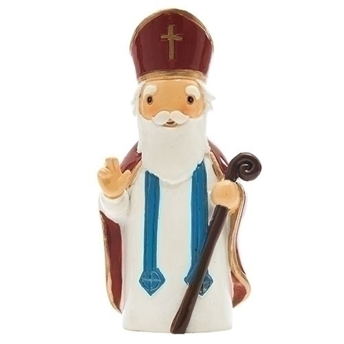 "3"" St. Nicholas Little Drop Statue 
