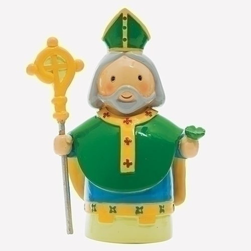 "3"" St. Patrick Little Drop Statue 