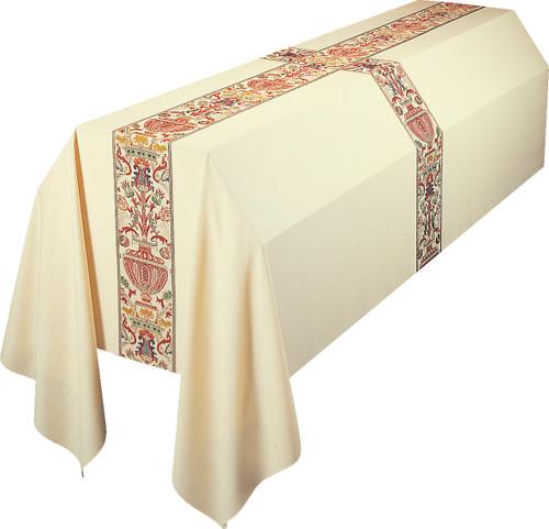 #2749 Regina Coronation Funeral Pall | 6' x 10' | Poly/Viscose