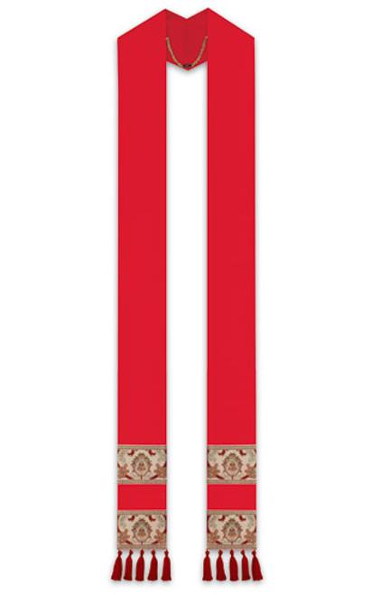 #2750 Regina Coronation Overlay Stole | Poly/Viscose