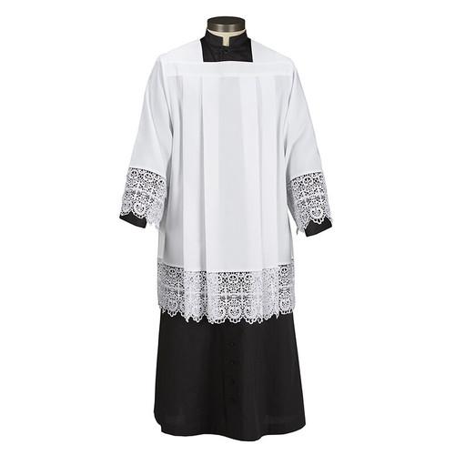 Budded Cross Lace Surplice | 100% Polyester