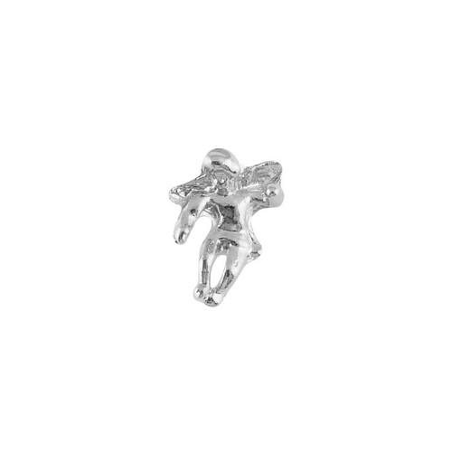 Silver Angel Lapel Pin