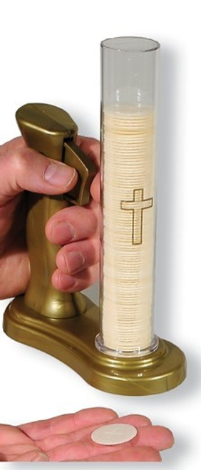 "No Contact Communion Host Dispenser | Use With 1 1/8"" Hosts 