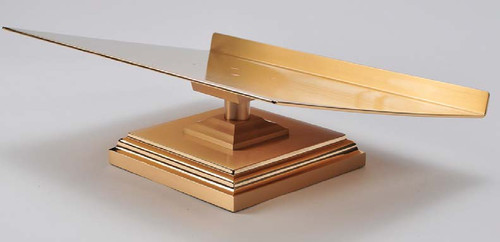 #11MS20 Square Base Missal Stand | Bronze