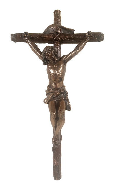 "16"" Traditional Veronese Crucifix Crucifix 