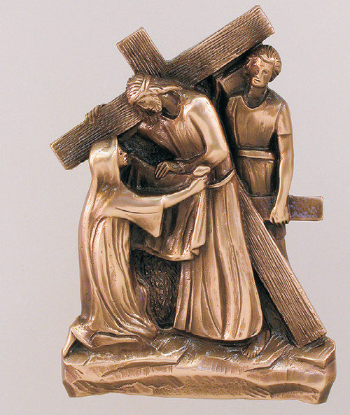 "#STA10 Stations Of The Cross | 10"" Relief 