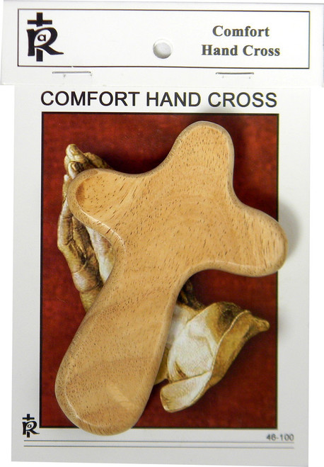 Comfort Hand Cross | Maple Wood