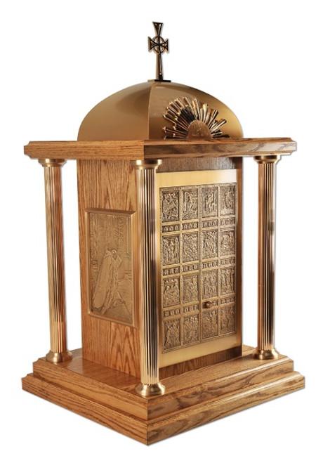 Porta Sancta Tabernacle | Wood/Bronze