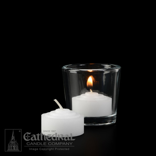 4 Hour Straight Side Votive Lights | 576 Candles