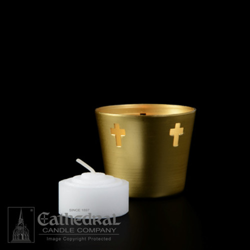 4 Hour Straight Side Votive Lights | For Use In Metal Cups | 576 Candles