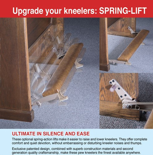 Spring Loaded Kneeler Design & Installation
